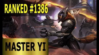 Master Yi Jungle - Full League of Legends Gameplay [German] Lets Play LoL - Ranked #1386