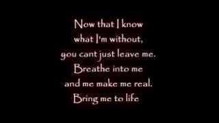 linkin park & evanescence - wake me up inside [lyrics].avi