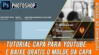 Fazer Banner de Capa do Youtube para Empresas  - Baixe Grátis o Guia da Capa!