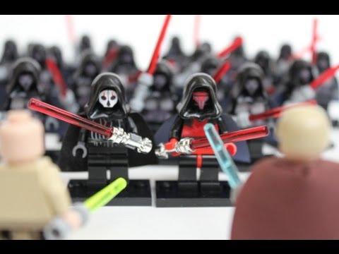 Lego Star Wars - Sith Army, Darth Nihilus & Darth Revan - YouTube