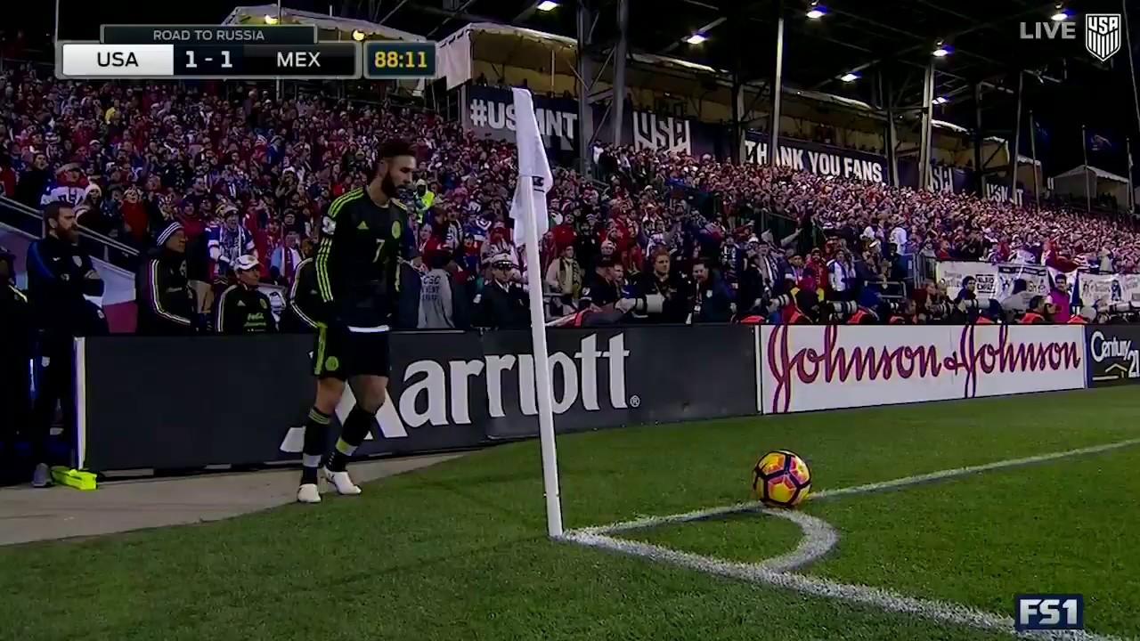 Mnt Vs Mexico Rafa Marquez Goal Nov