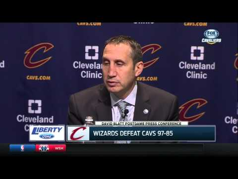 Cleveland Cavaliers head coach David Blatt addresses Timofey Mozgov's struggles