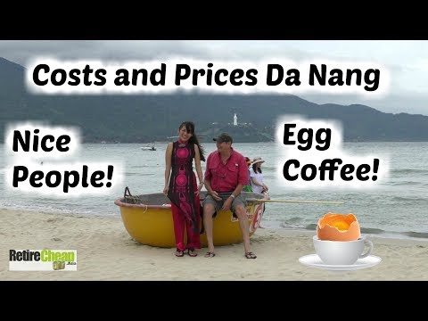 Costs & Prices Da Nang Vietnam - Retire Cheap VN 05 ☕