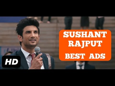 Sushant Singh Rajput Best Ads || Sushant Singh Rajput TV Ads || Sushant Singh Rajput Latest Ads