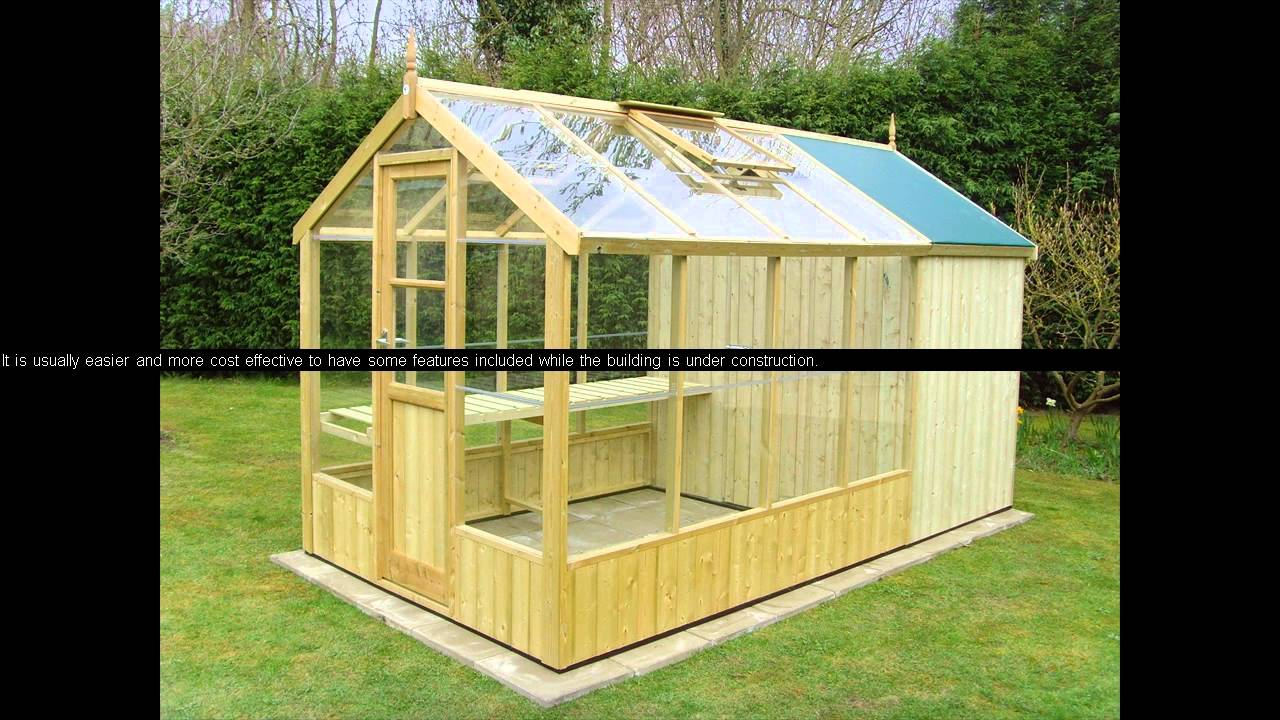 Greenhouse plans with old windows