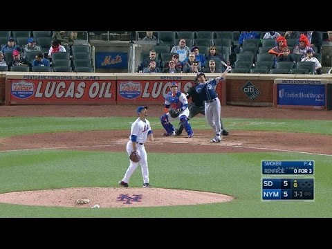 Renfroe crushes a go-ahead solo homer in...