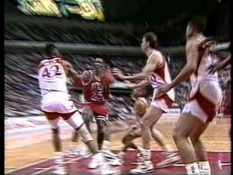 March 10, 1991 Bulls vs Hawks highlights