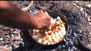 Camp Oven Stew On The Telegraph Track