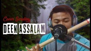 Deen Assalam Sabyan Gambus Cover Seruling