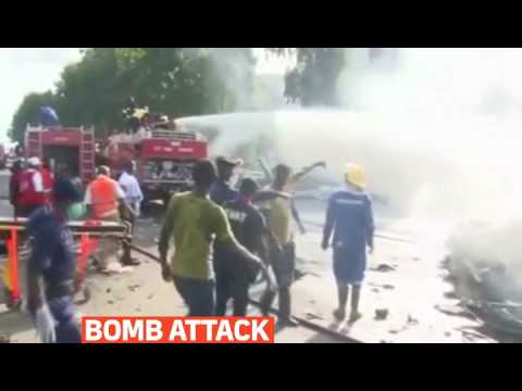 mitv - Bomb attack iin Nigeria's capital, Abuja, killed at least 21 people and injured 52 more