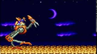 Sparkster Playthrough Stage 3 (SNES)