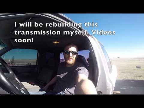 Ranger stuck in 4th gear - YouTube
