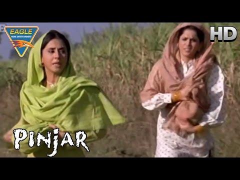 Pinjar Movie || Manoj Kidnaps Urmila || Urmila Matondkar, Sanjay Suri || Eagle Hindi Movies