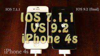 Сравнение ios 9.2 и ios 7.1.1 iPhone 4s(, 2015-12-09T12:55:39.000Z)