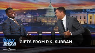 Gifts from P.K. Subban: The Daily Show thumbnail