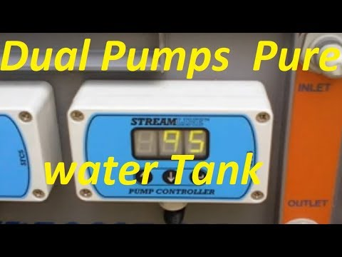 Dual Pumps and Pure water Tank!
