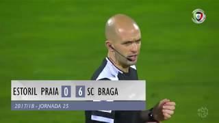 Video Gol Pertandingan Estoril Praia vs Sporting Braga