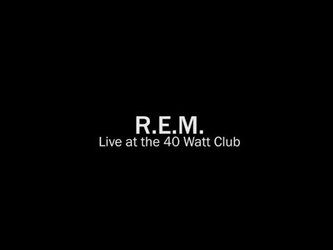 R.E.M. - Live at the 40 Watt Club 11/19/92 (Complete Concert)