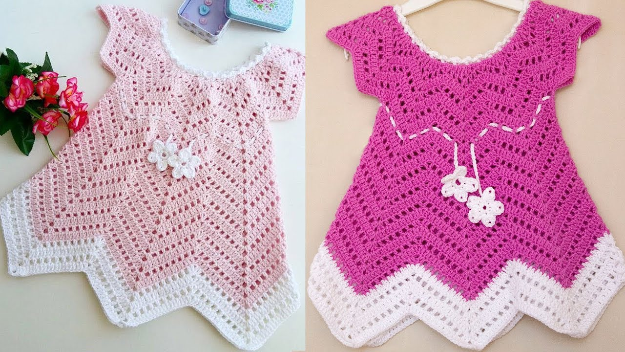 Baby Blossom Summer Dress Free Crochet Pattern Youtube