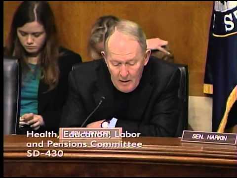 Sen. Alexander, Opening Statement, Senate HELP Hearing