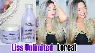 Resenha: Liss Unlimited Loreal (shampoo e máscara) por Bia Munstein