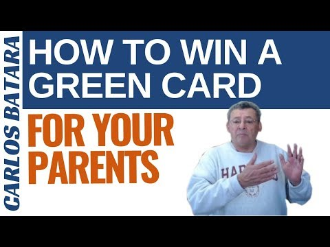 Green Card For Parents Of US Citizen