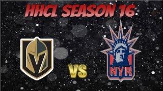Roblox HHCL Season 16 Game 13 VGK VS NYR