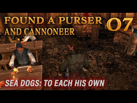 Playing Sea Dogs: To Each His Own - Impossible Difficulty - Ep. 7 - Found A Purser And Cannoneer!