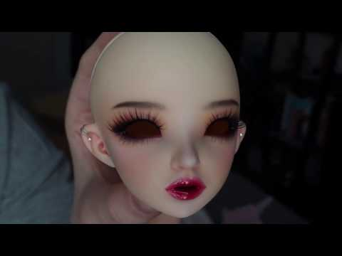 Raquel Clemente BJD Faceup Box Opening (2 heads)