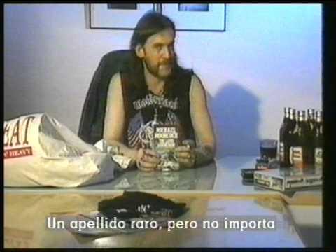 Hard N Heavy Lemmy Motorhead trick or treat 1989 (subtitulos en español)