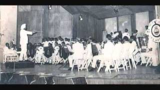 """INDIAN NAVAL SYMPHONIC BAND -""""Jai Bharati"""", Conducted by M.S.Neer,VSM,LMME-LTCL in 1983-84"""