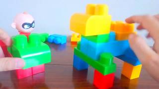 Mega Bloks перших будівельників з неймовірною малюка!!! Кращі Дитячі Іграшки