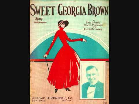 Ben Bernie And His Orchestra Sweet Georgia Brown 1925