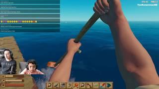 Penemuan Radar Kehidupan Tengah Laut Raft Game Indonesia Part 3 TheRempongsHD