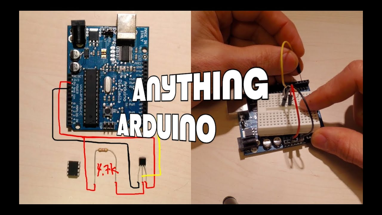 Getting temp from ds b to an attiny control a relay