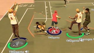 NBA 2k17 MyPark - I'd Rather Get W's! Deep Green Buzzer Beater!  Subscribers Getting Hype!