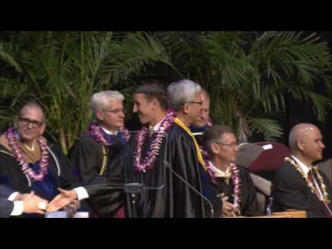 Spring 2016 Presentation of the BYU–Hawaii Graduates