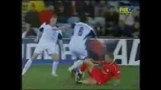 Worst Fouls in Football History
