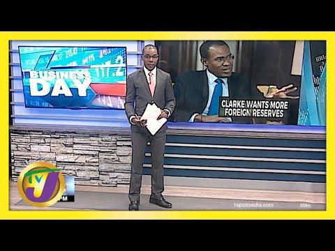 Finance Minister Eyes Higher NIR in Jamaica | TVJ Business Day