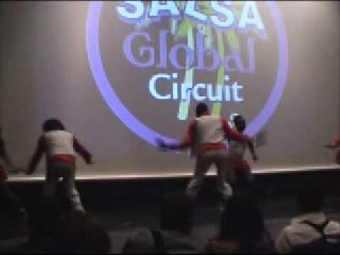 Salsa ,Rumba y Afro cubano Arelys Savon Scuola di Danza spettacolo Global Circuit