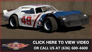 """1970 Chevrolet Camaro Stock Car from """"Six Pack"""" 
