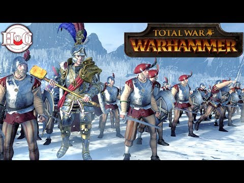 Emperor and the Mammoth - Total War Warhammer Online Battle 354