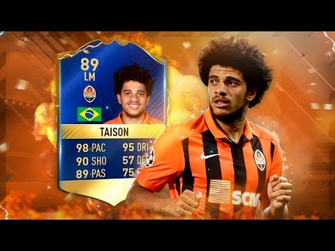 FIFA 17: 98 PACE TOTS TAISON 2VS2 SQUAD BUILDER SHOWDOWN 😱💥