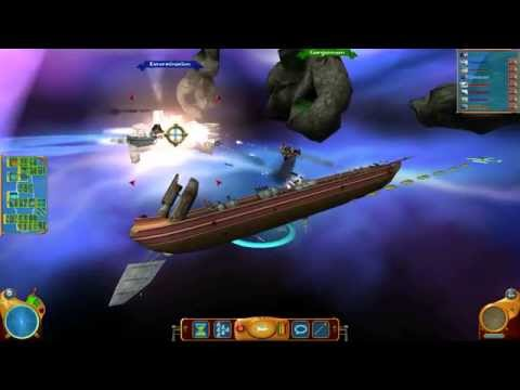 Treasure Planet: Battle at Procyon Modified: Test Barge vs. The Armada  