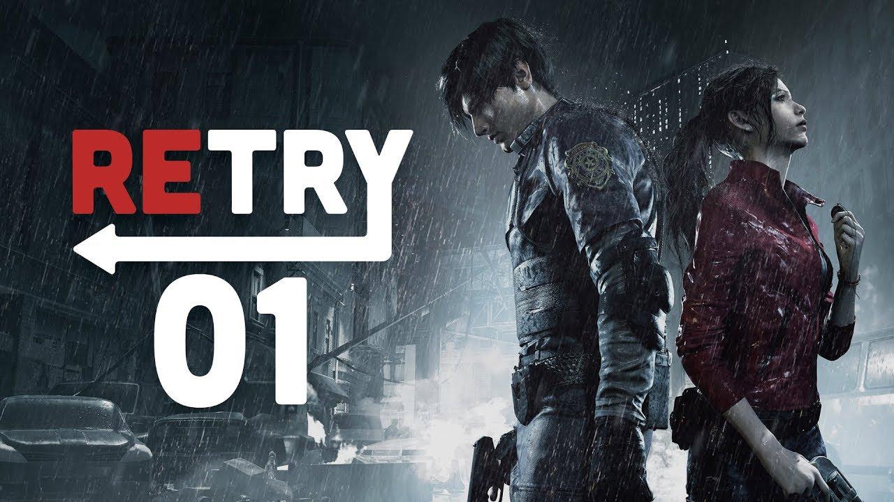 Retry: Resident Evil 2 – Ep  1: Police Department (Leon)