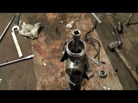 Замена ремкомплекта рулевой рейки TLC 100. Часть 2.