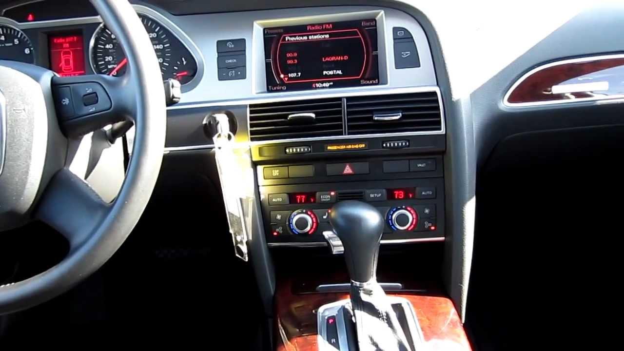 2007 Audi A6 Interior