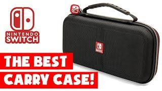 THE BEST NINTENDO SWITCH CASE! Deluxe travel case review.