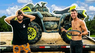 I BROKE MY OUTLANDER! BUSCO BEACH MUD FEST Ft. Zack Goes