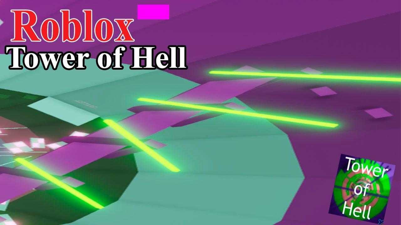 Passing tower of hell in roblox!💫